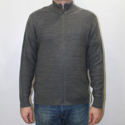 EM2477-028 свитер Roc Full Zip серый