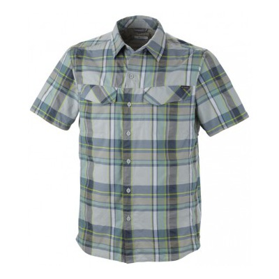 AM7429-304 Рубашка Silver Ridge Multi Plaid S/S Shirt морской волны р.S