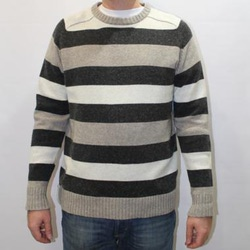 AM2789-005 L Свитер Bridge Too Far Sweater светло-серый р.L