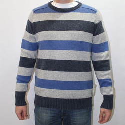 AM2789-464 L Свитер Bridge Too Far Sweater синий р.L